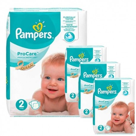 504 Couches Pampers ProCare Premium protection taille 2 sur Sos Couches