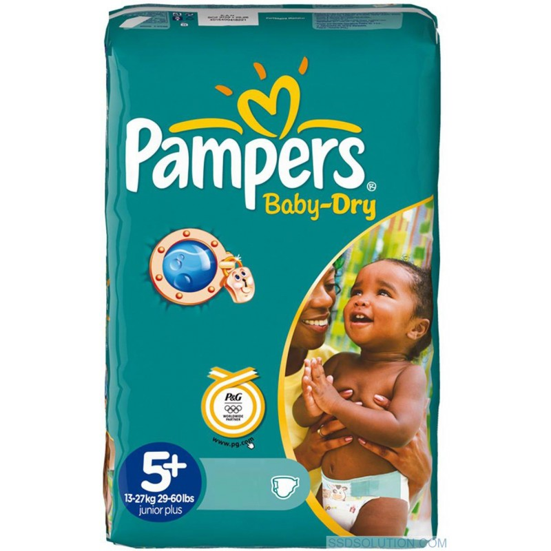 Achat 48 couches pampers baby dry taille 5 en promotion sur sos couches - Couches pampers baby dry ...