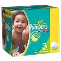 380 Couches Pampers Baby Dry taille 3 sur Sos Couches
