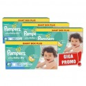 640 Couches Pampers Active Baby Dry taille 4+ sur Sos Couches