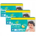 800 Couches Pampers Active Baby Dry taille 4+ sur Sos Couches