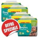 84 Couches Pampers Baby Dry taille 5+ sur Sos Couches