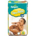 35 Couches Pampers New Baby Premium Protection taille 3 sur Sos Couches