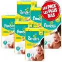 245 Couches Pampers New Baby Premium Protection taille 3 sur Sos Couches