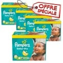 286 Couches Pampers Baby Dry taille 5+ sur Sos Couches