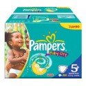 374 Couches Pampers Baby Dry taille 5+ sur Sos Couches