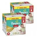132 Couches Pampers Premium Care Pants taille 4 sur Sos Couches