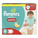 224 Couches Pampers Baby Dry Pants taille 6 sur Sos Couches