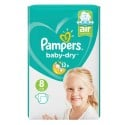 20 Couches Pampers Baby Dry taille 8 sur Sos Couches
