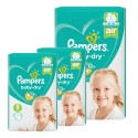 40 Couches Pampers Baby Dry taille 8 sur Sos Couches
