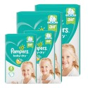 60 Couches Pampers Baby Dry taille 8 sur Sos Couches