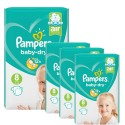 120 Couches Pampers Baby Dry taille 8 sur Sos Couches