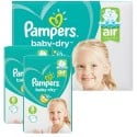 160 Couches Pampers Baby Dry taille 8 sur Sos Couches