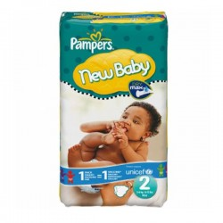 80 Couches Pampers New Baby taille 2