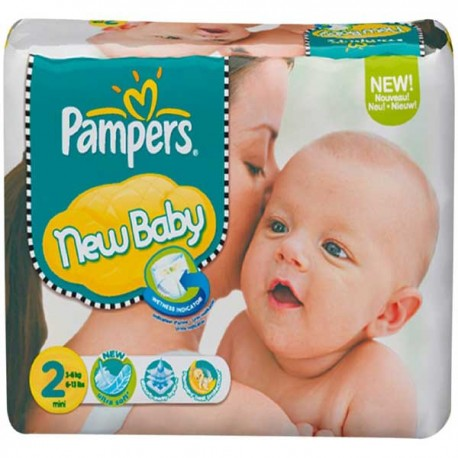 320 Couches Pampers New Baby taille 2 sur Sos Couches