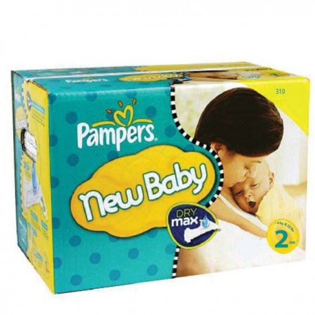 480 Couches Pampers New Baby taille 2 sur Sos Couches