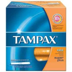 20 Tampons Tampax Classique taille super plus avec applicateur