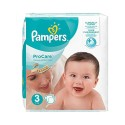32 Couches Pampers ProCare Premium protection taille 3 sur Sos Couches