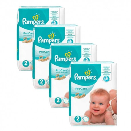 108 Couches Pampers ProCare Premium protection taille 2 sur Sos Couches