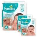 96 Couches Pampers ProCare Premium protection taille 3 sur Sos Couches