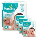 512 Couches Pampers ProCare Premium protection taille 3 sur Sos Couches