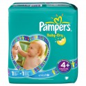 50 Couches Pampers Baby Dry taille 4+ sur Sos Couches