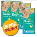 33 Couches Pampers Active Baby Dry taille 5 sur Sos Couches
