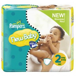 246 Couches Pampers New Baby Premium Protection taille 2
