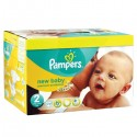 328 Couches Pampers New Baby Premium Protection taille 2 sur Sos Couches