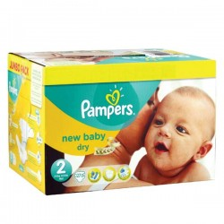 492 Couches Pampers New Baby Premium Protection taille 2