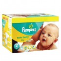 656 Couches Pampers New Baby Premium Protection taille 2 sur Sos Couches