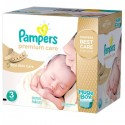 40 Couches Pampers Premium Care taille 3 sur Sos Couches