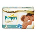 80 Couches Pampers Premium Care taille 3 sur Sos Couches