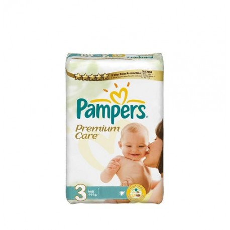 140 Couches Pampers Premium Care taille 3 sur Sos Couches