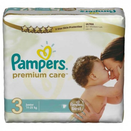 160 Couches Pampers Premium Care taille 3 sur Sos Couches