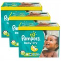 375 Couches Pampers Baby Dry taille 5+ sur Sos Couches