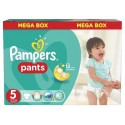 128 Couches Pampers Baby Dry Pants taille 5 sur Sos Couches
