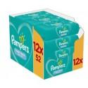 520 Lingettes Bébés Pampers Fresh Clean sur Sos Couches