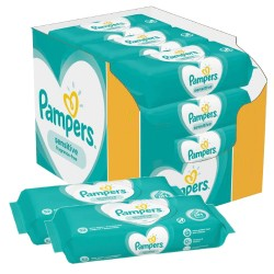 364 Lingettes Bébés Pampers Sensitive