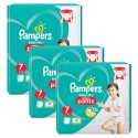 126 Couches Pampers Baby Dry Pants taille 7 sur Sos Couches