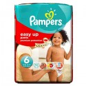 52 Couches Pampers Easy Up taille 6 sur Sos Couches