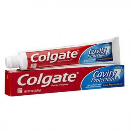 Dentifrice Colgate Cavity Protection sur Sos Couches