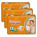 272 Couches Pampers Sleep & Play taille 4 sur Sos Couches