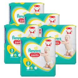 140 Couches Pampers Sleep & Play taille 3