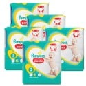 210 Couches Pampers Premium Protection Pants taille 3 sur Sos Couches