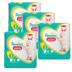 385 Couches Pampers Premium Protection Pants taille 3
