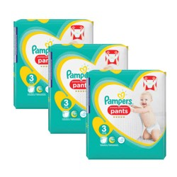 Mega pack 188 Couches Pampers Baby Dry Pants taille 5