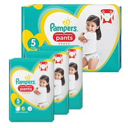 80 Couches Pampers Premium Protection Pants taille 5