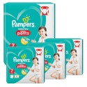 116 Couches Pampers Baby Dry Pants taille 7 sur Sos Couches