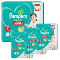 174 Couches Pampers Baby Dry Pants taille 7 sur Sos Couches